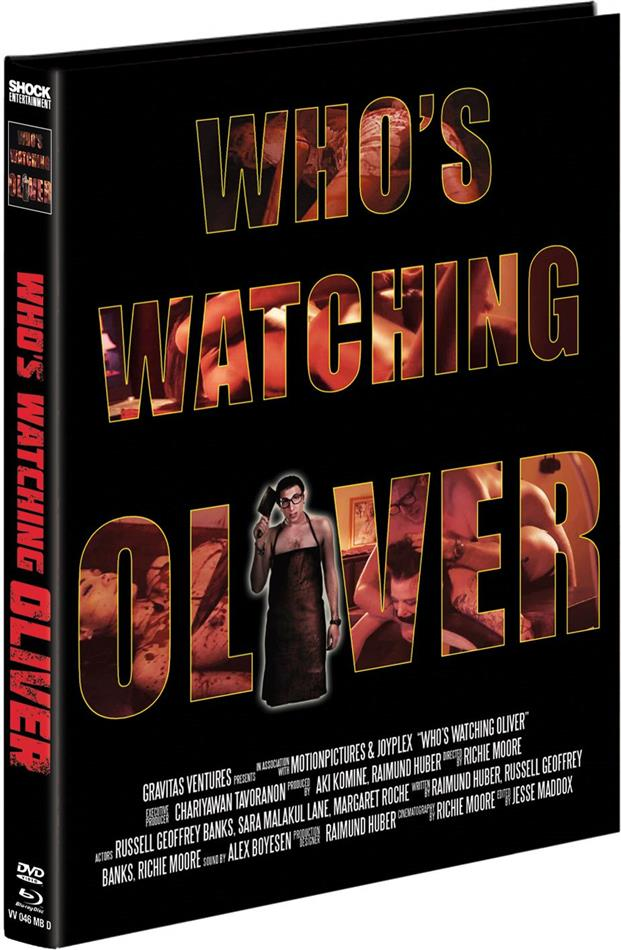 Who's watching Oliver (2017) (Cover D, Limited Edition, Mediabook, Blu-ray + DVD)