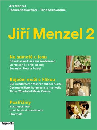 Jiří Menzel Box 2 (Trigon-Film, 3 DVDs)