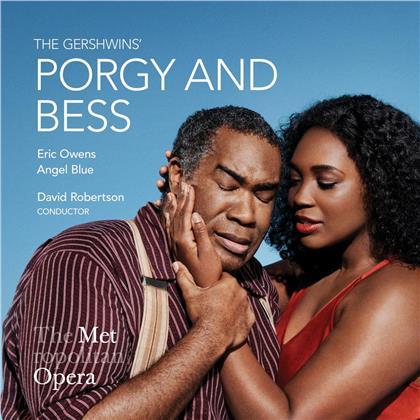 Eric Owens, Angel Blue, David Robertson & George Gershwin (1898-1937) - Porgy & Bess (3 CDs)