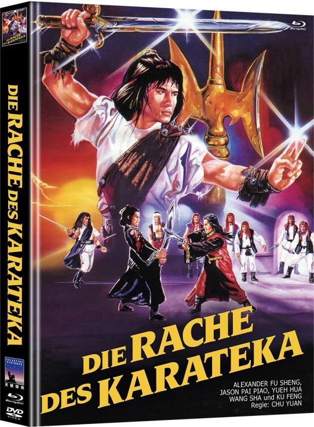 Die Rache des Karateka (1980) (Limited Edition, Mediabook, Blu-ray + DVD)