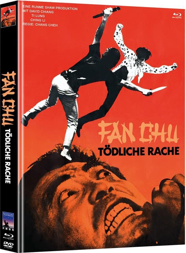 Fan Chu - Tödliche Rache (1971) (Limited Edition, Mediabook, Blu-ray + DVD)