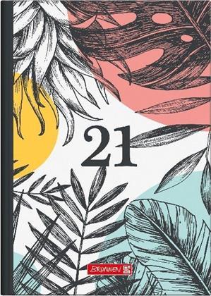 Buchkalender Modell 795 Flowers, 2021 - Grafik-Einband