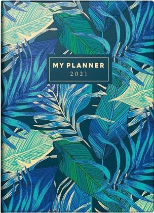 Taschenkalender Modell Technik III Jungle - Grafik-Einband (2021)