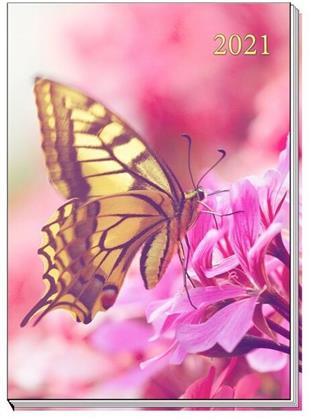 Taschenkalender A7 2021 Schmetterling