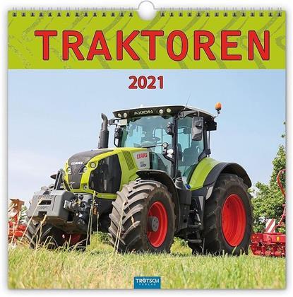 """Technikkalender """"Traktoren"""" 2021"""