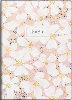 Taschenkalender Modell Technik III Fiori, 2021 - Grafik-Einband