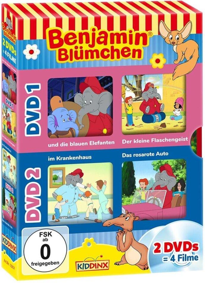 Benjamin Blümchen - 2 DVDs - 4 Filme (2 DVDs)
