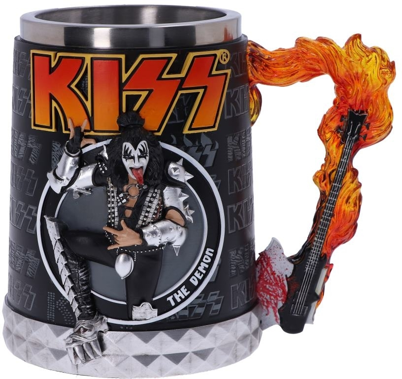 Kiss - Flame Range - The Demon (Tankard)