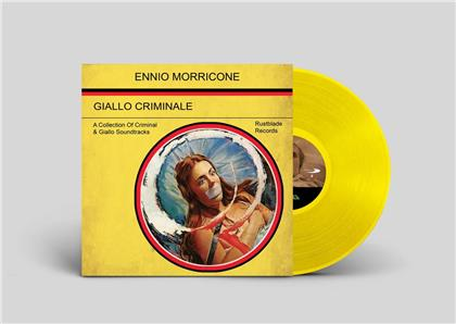 Ennio Morricone (1928-2020) - Giallo Criminale - OST (20th Anniversary Edition, Yellow Vinyl, LP)