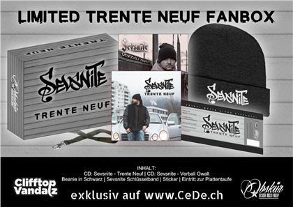 Sevsnite - Trente Neuf (LIMITED FANBOX) - Beanie, Schlüsselband, Eintritt zur Plattentaufe (2 CDs)