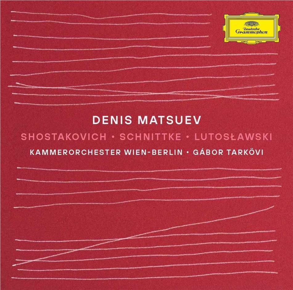 Dimitri Schostakowitsch (1906-1975), Alfred Schnittke (1934-1998), Witold Lutoslawski (1913-1994), Rainer Honeck, Gabor Tarkövi, … - Shostakovich / Schnittke / Lutoslawski