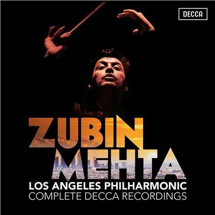 Zubin Mehta & Los Angeles Philharmonic - Complete Decca Recordings (38 CDs)