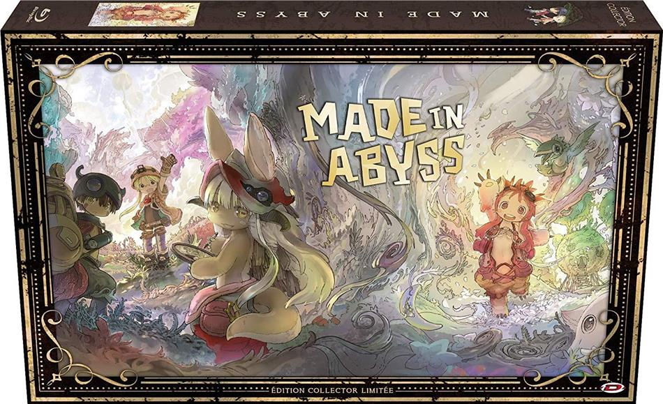 Made in Abyss - Intégrale (Format A4, Collector's Edition, 2 Blu-ray + 3 DVD)