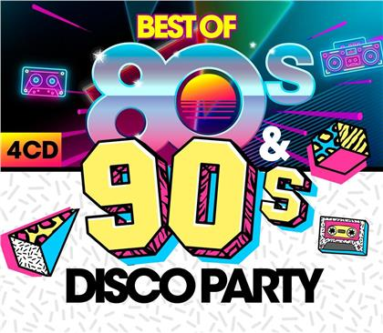 Best Of 80s & 90s Disco Party (4 CDs)
