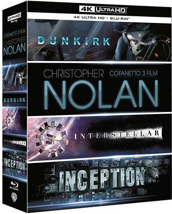 Christopher Nolan - Collezione 3 Film: Dunkirk; Inception; Interstellar (3 4K Ultra HDs + 6 Blu-rays)