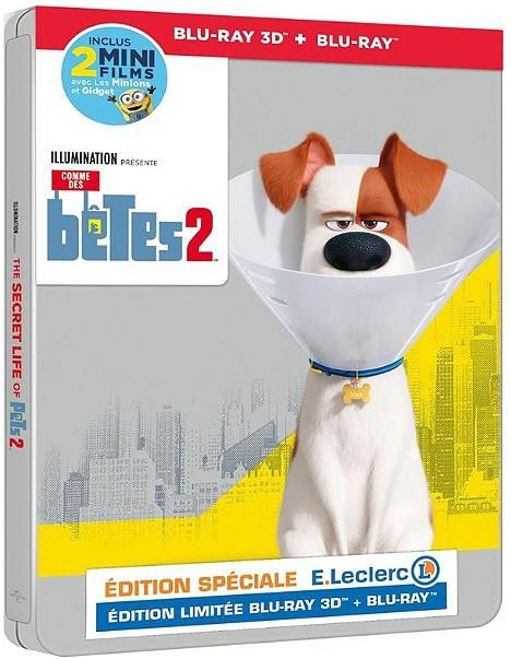 Comme des bêtes 2 (2019) (Limited Edition, Steelbook, Blu-ray 3D + Blu-ray)