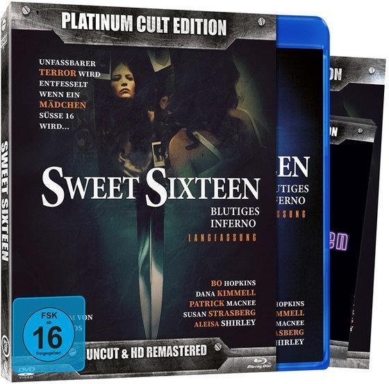 Sweet Sixteen (1983) (Platinum Cult Edition, Edizione Limitata, Versione Rimasterizzata, Uncut, 2 Blu-ray + DVD)