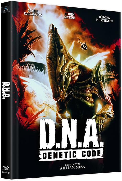 D.N.A. - Genetic Code (1996) (Cover D, Limited Edition, Mediabook, 2 Blu-rays)