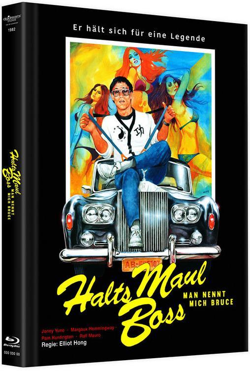 Halts Maul Boss - Man nennt mich Bruce (1982) (Limited Edition, Mediabook, Blu-ray + DVD)