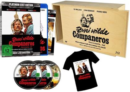Zwei wilde Companeros (1971) (+ T-Shirt, Platinum Cult Edition, HD-Remastered, Limited Edition, Uncut, Holzbox, Blu-ray + 2 DVDs)