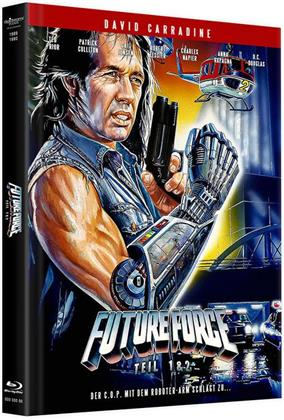 Future Force - Teil 1 & 2 (Cover A, Limited Edition, Mediabook, Remastered, Uncut, Blu-ray + DVD)