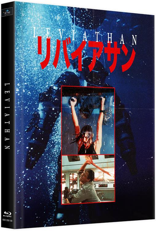 Leviathan (1989) (Cover D, Limited Edition, Mediabook, 2 Blu-rays)