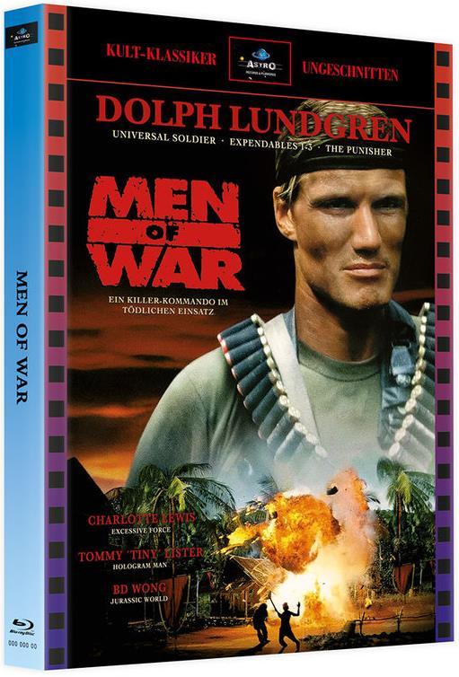Men of War (1994) (Kult-Klassiker Ungeschnitten, Cover A, Limited Edition, Mediabook, 2 Blu-rays)