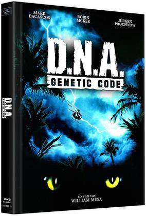 D.N.A. - Genetic Code (1996) (Cover B, Limited Edition, Mediabook, Uncut, 2 Blu-rays)
