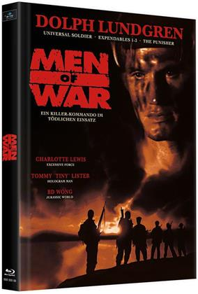 Men of War (1994) (Cover B, Limited Edition, Mediabook, Uncut, 2 Blu-rays)