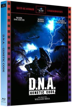D.N.A. - Genetic Code (1996) (Cover A, Kult-Klassiker Ungeschnitten, Limited Edition, Mediabook, 2 Blu-rays)