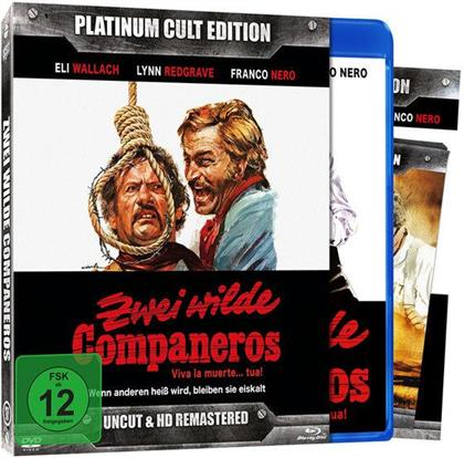 Zwei wilde Companeros (1971) (Platinum Cult Edition, HD-Remastered, Edizione Limitata, Uncut, Blu-ray + DVD)