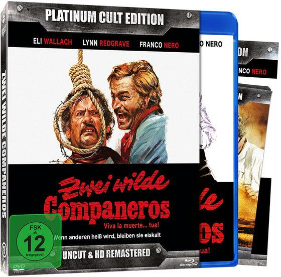 Zwei wilde Companeros (1971) (Platinum Cult Edition, HD-Remastered, Limited Edition, Uncut, Blu-ray + DVD)