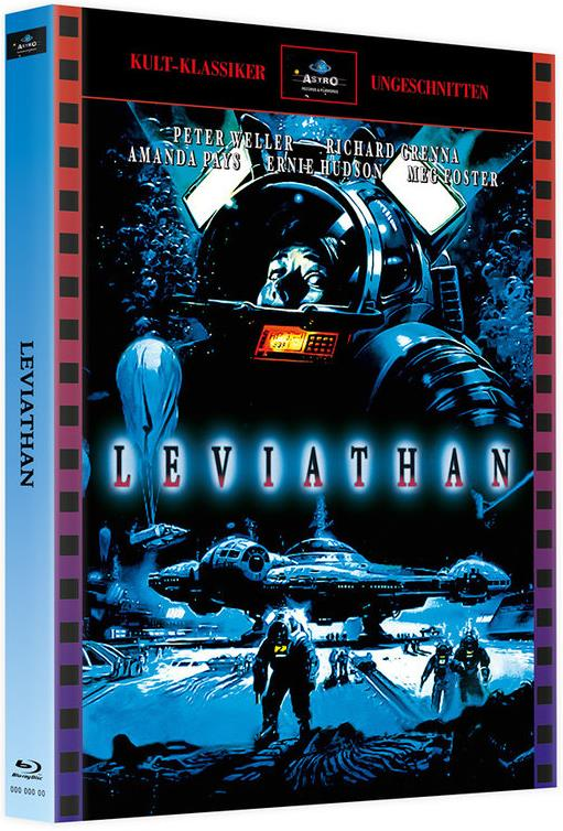 Leviathan (1989) (Cover A, Limited Edition, Mediabook, 2 Blu-rays)