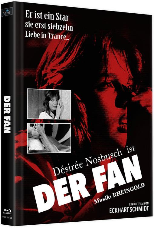 Der Fan (1982) (Cover C, Limited Edition, Mediabook, 2 Blu-rays)