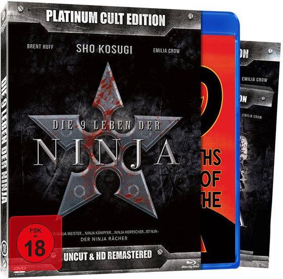 Die 9 Leben der Ninja (1985) (Platinum Cult Edition, HD-Remastered, Uncut, Blu-ray + DVD)