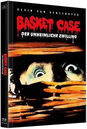 Basket Case - Der unheimliche Zwilling (1982) (Cover B, Limited Edition, Mediabook, 3 Blu-rays)
