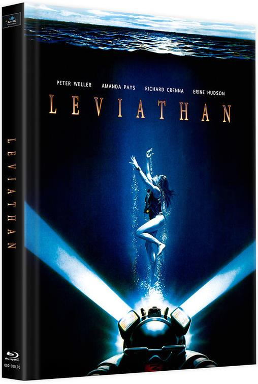 Leviathan (1989) (Cover B, Limited Edition, Mediabook, 2 Blu-rays)