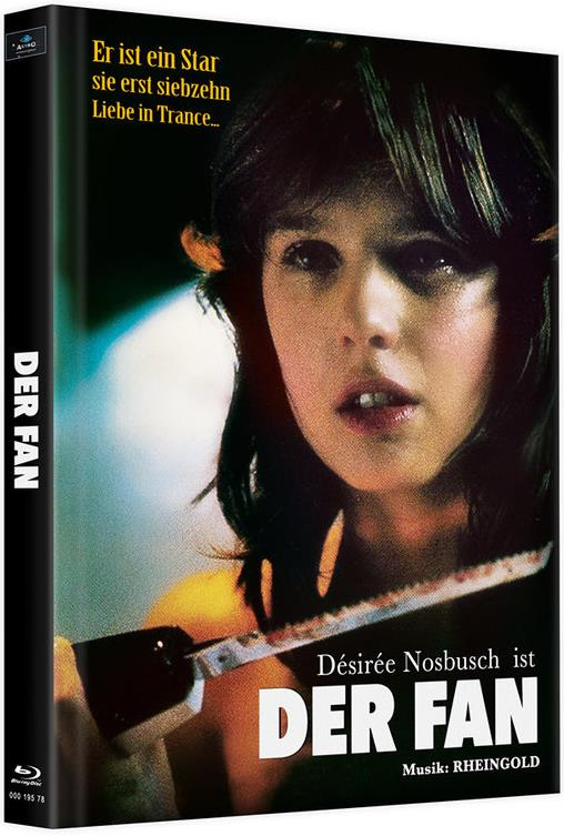 Der Fan (1982) (Cover D, Limited Edition, Mediabook, 2 Blu-rays)