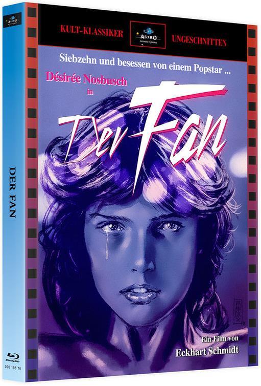Der Fan (1982) (Cover A, Kult-Klassiker Ungeschnitten, Edizione Limitata, Mediabook, 2 Blu-ray)