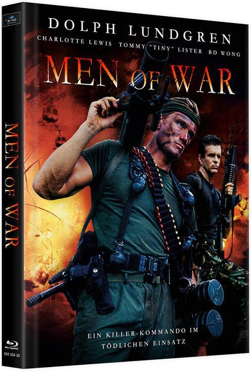 Men of War (1994) (Cover C, Limited Edition, Mediabook, Uncut, 2 Blu-rays)