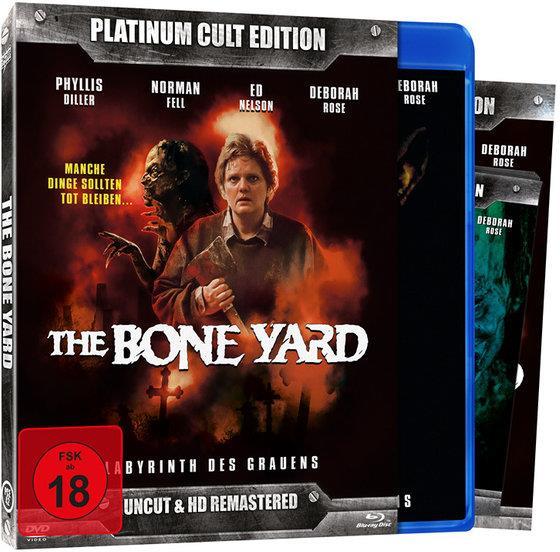 The Boneyard (1991) (Platinum Cult Edition, HD-Remastered, Uncut, Blu-ray + DVD)