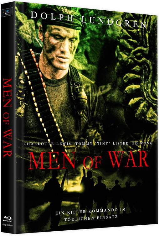 Men of War (1994) (Cover D, Limited Edition, Mediabook, Uncut, 2 Blu-rays)