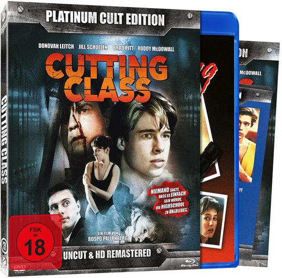 Cutting Class (1989) (Platinum Cult Edition, HD-Remastered, Uncut, Blu-ray + DVD)