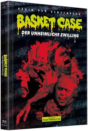 Basket Case - Der unheimliche Zwilling (1982) (Cover D, Limited Edition, Mediabook, 3 Blu-rays)