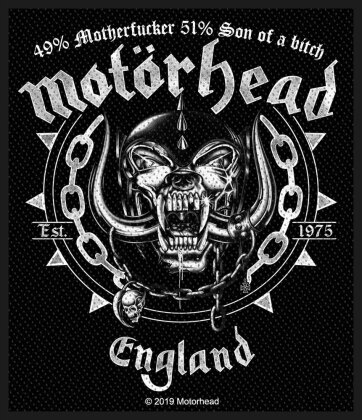 Motorhead Standard Patch - Ball & Chain (Loose)