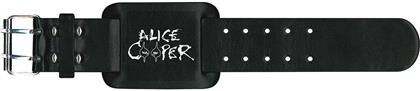 Alice Cooper Leather Wrist Strap - Eyes