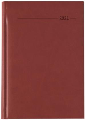 Buchkalender Tucson rot 2021