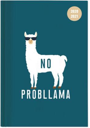 Collegetimer Llama 2020/2021 - Lama - Schülerkalender A5