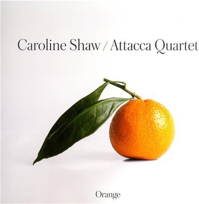 Attacca Quartet & Caroline Shaw (*1982) - Orange (2 LPs)