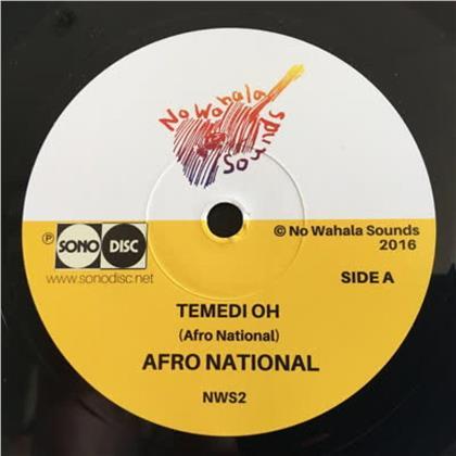 Afro National - Temedi Oh / Den Kick (LP)